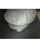 Authentic GUCCI hat Flat Hunting Cap GG canvas black / gray men's M adju... - $299.00