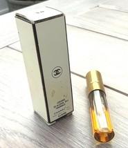 Vintage CHANEL No.5 Spray Perfume 1/5 FL oz Refill 1/2 full original box image 2