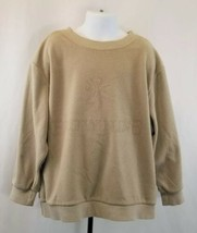 Browning Youth Fleece Pull-Over Tan, size Small - $9.55