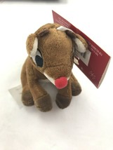 Hallmark Rudolph Stuffed Animal Christmas Ornament NWT - $29.70