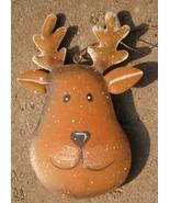OR503- Reindeer Metal Christmas Ornament - $1.95