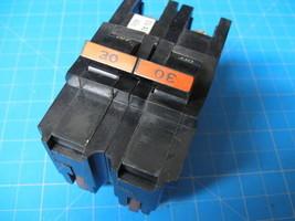"Used Federal Pacific Stab-Lok Fpe 30 Amp 2 Pole 2"" Wide Breaker - $28.17"