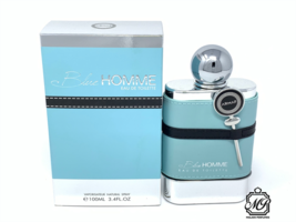 Armaf Blue Homme Eau De Toilette Spray 3.4 Oz New Sealed In Box - $22.67