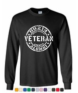 DD214 Veteran Long Sleeve T-Shirt Military Service Duty Support Our Troops Tee - $17.97 - $26.99