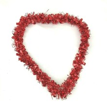 Heart Shaped Tinsel  Decor Hanging NWT wall decor craft supply - $30.00