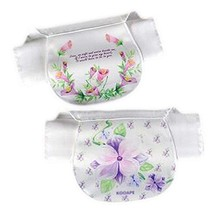 2 Pcs Lovely Baby Sweat Absorbent Washcloths Mat Towels Soft Cotton Gauze Towels