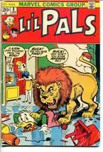 Li'l Pals #3 1973-Marvel-lion attack cover-funny animal reprints-G - $18.92