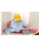 Disney Parks Dream Friends Sleeping Baby Dumbo 18 inch Plush Doll NEW - $49.90