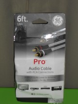 Ge #33536 Pro Audio Cable 6FT - $8.41