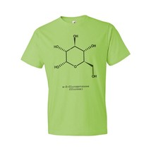 Glucose Blood Sugar Molecule T-Shirt Science Art Gift Glucose Molecule Glucose - $18.95+