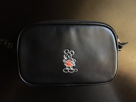 NWT Coach x Disney Ltd Edition Mickey Mouse Black Crossbody Clutch 66150 - $297.46 CAD