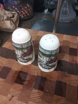 JOHNSON BROTHERS THE FRIENDLY VILLAGE SALT AND PEPPER SHAKERS - $43.51
