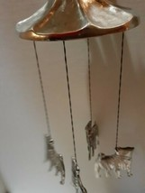 Shar Pei Pewter Wind Chimes - $16.83