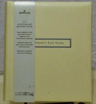 Hallmark 25th Anniversary Memory Book - $31.76