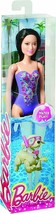 "Barbie Friend RAQUELLE 11"" Doll in Purple Swimsuit (Mattel, 2018) - $13.54"