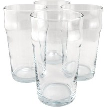 British Style Imperial Pint Glass with Etched Seal - Set of 4 - Gift Boxed - $33.83