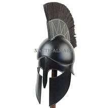 Medieval Dark Legionnaire Greek Corinthian Helmet By Nauticalmart - $197.01