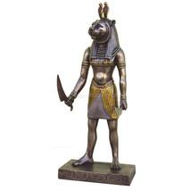 """Ancient Egyptian Sekhmet Lioness Head (Cold Cast Bronze) 8.5"""" Statue - $48.02"""
