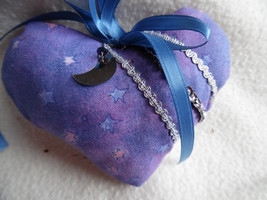 Purple star struck heart sachet - $6.00