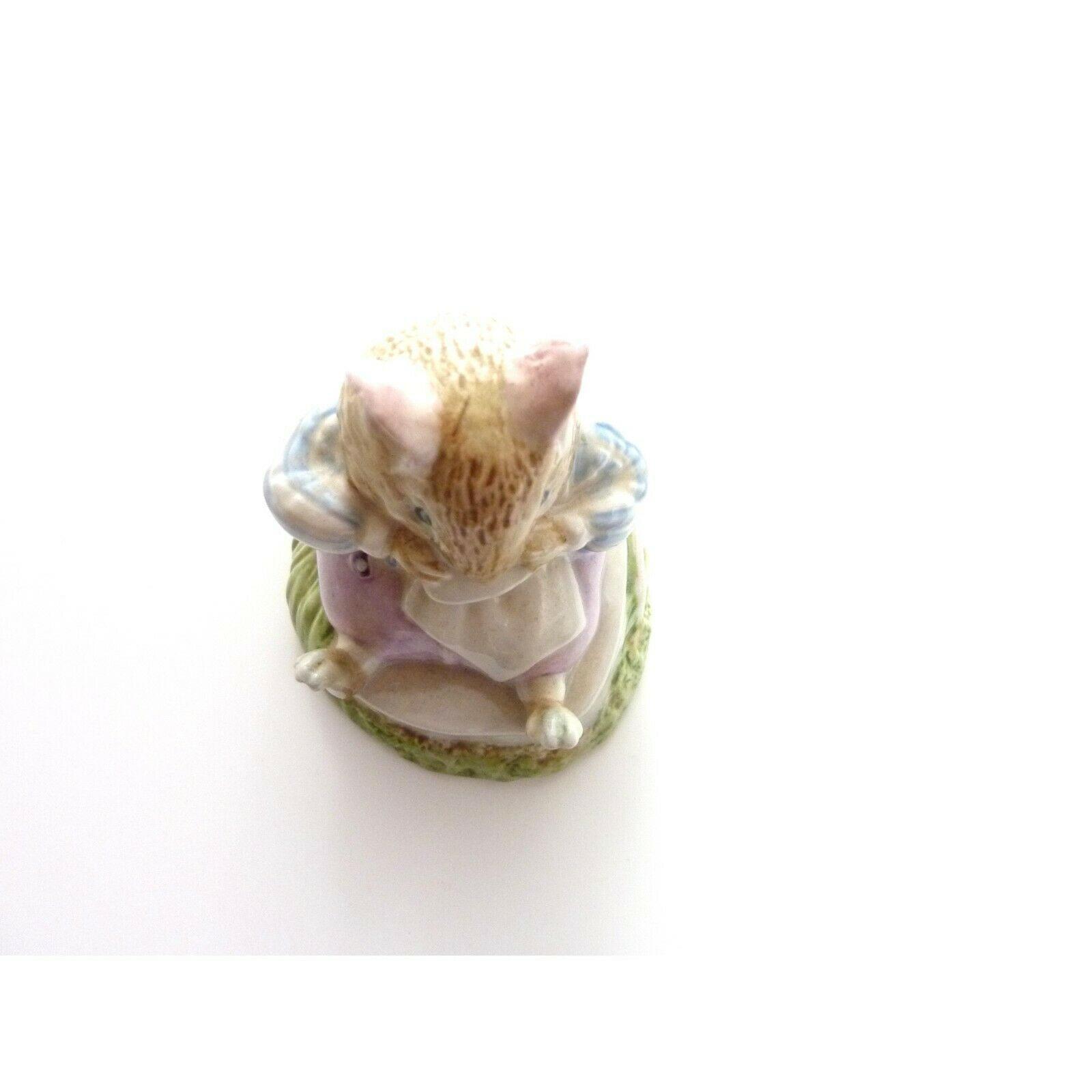 Vintage Mr Toadflax, no cushion, tail on side Royal Doulton figurine image 2