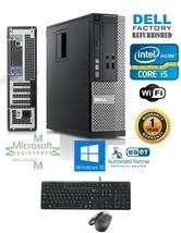 Fast Dell Optiplex Sff Pc Desktop i5 2400 Quad 3.1GHz 4GB 1TB Windows 10 Hp 64 - $368.38