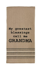 2 ~ Olivia's Heartland embroidered quote Dish T... - $19.95