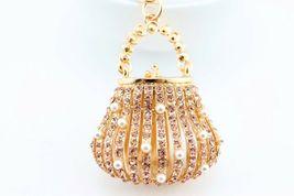 Purse Bag Fashion Keychain Crystal Charm Cute Gift Bag Pouch #MCK11 - $18.17