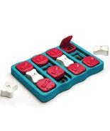 Dog Brick Interactive Toy Treat Dispenser Game Nina Ottosson Sweden Level 2 - $24.24