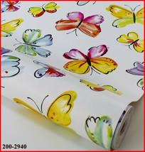 DC Fix Self Adhesive Butterfly Design Vinyl 17.7'' x 39.3'' 200-2940 - $10.25