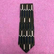 Zylos George Machado Men's Green Printed Necktie - $29.68