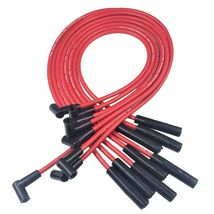 SBC 327 350 SMALL CAP DISTRIBUTOR COIL + 8mm SPARK PLUG WIRES OVER VALVE COVER image 7