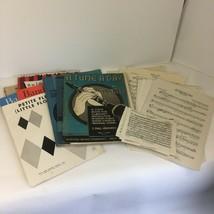 Lot of Vtg Clarinet Sheet Music Magazines Music Notes Playing Repurpose ... - $18.69