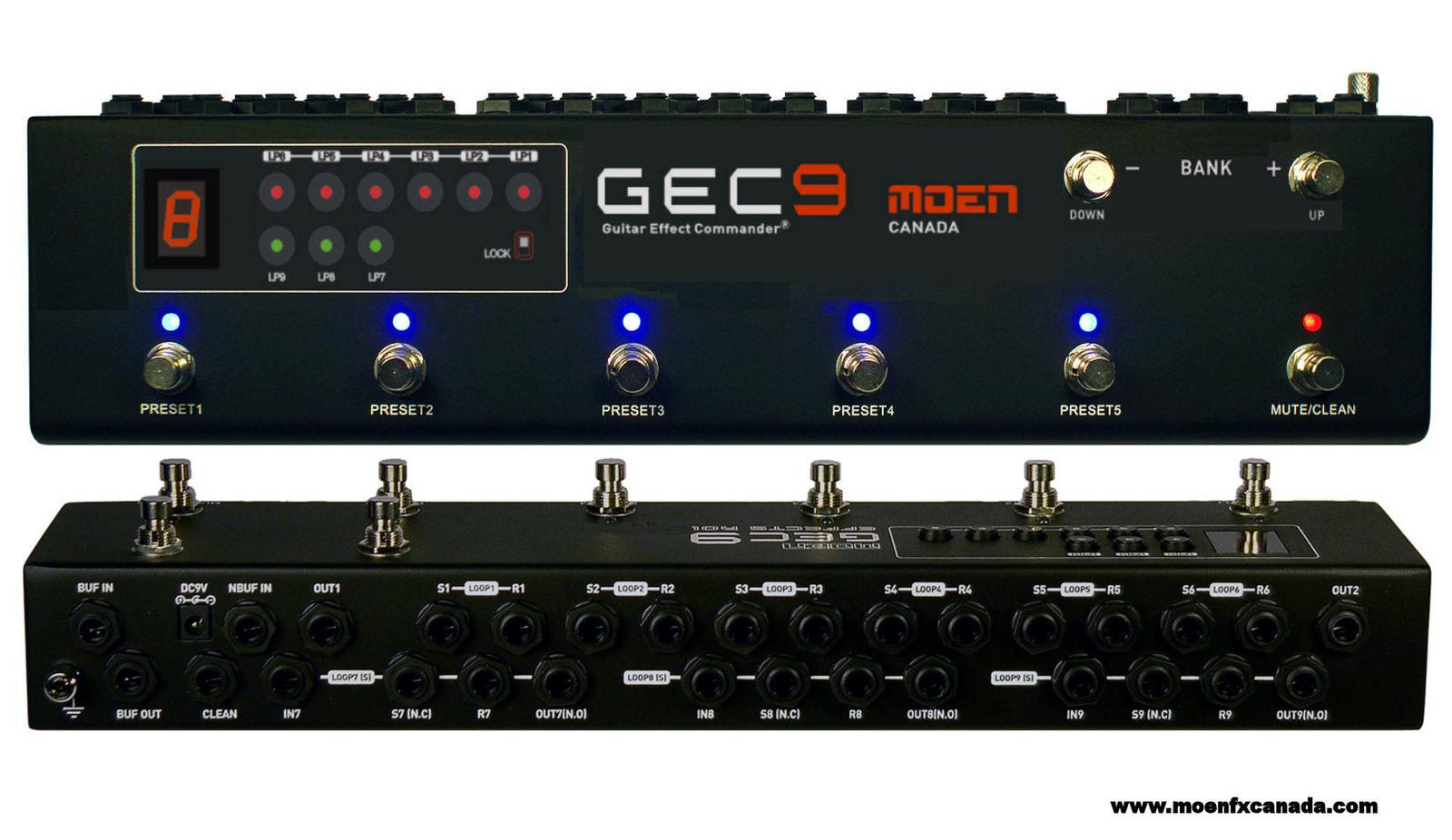 moen canada gec 9 v2 pedal switcher guitar and similar items rh bonanza com