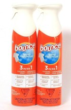 2 Bounce 9.7 Oz Rapid Touch 3 In 1 Clothing Spray Release Wrinkle Odor &... - $24.99