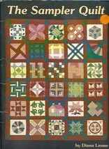 The Sampler Quilt Quilting Book Patterns by Diana Leone 1980  - $11.19