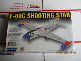 Lindberg F-80C Shooting Star 1/48 scale - $24.99