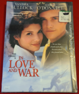 IN LOVE AND WAR DVD- MOVIE- SANDRA BULLOCK- CHRIS O'DONNELL- NEW- FREE SHIPPING - Freebie