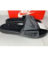 NIB SIZES 8 9 10 MEN Nike Solarsoft Comfort Slides Sandals Padded Black ... - $29.99