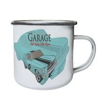 Garage Service Vintage Car Cars Best Retro,Tin, Enamel 10oz Mug a972e - $13.13