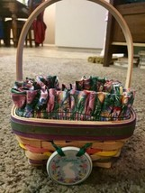 1998 Longaberger Easter Basket - Gently Used - $15.00