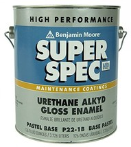 Benjamin Moore 1 Gallon Can of High Performance Super Spec Paint Blue | for use