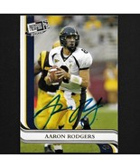 Aaron Rodgers autograph signed 2005 Press Pass rookie card #7 Packers Nice! - $89.99