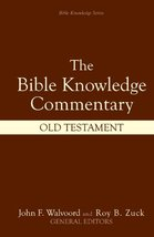 The Bible Knowledge Commentary (Old Testament:) [Hardcover] John F. Walv... - $20.00