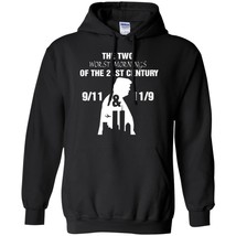 Print Hoodie Trump The Two Worst Mornings Of The 21ST Century Size S-5XL - $39.55