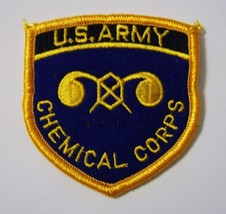 U.S. Army Chemical Corps Branch Of Service Full Color Patch NEW:K5 - $3.75