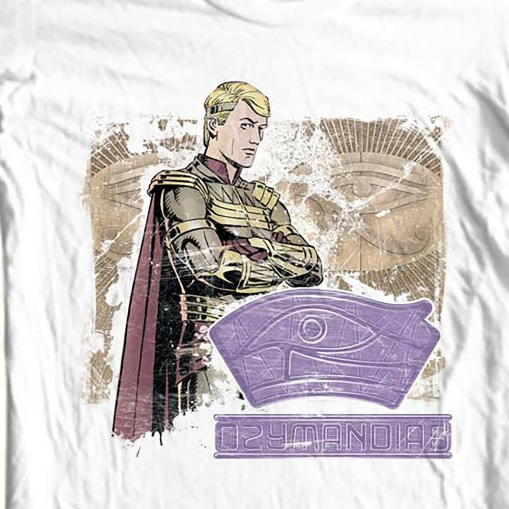Ozymandias The Watchmen T-shirt DC comics retro 1980s graphic novel tee WBM259