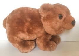 Vtg Dakin 1975 Light Brown Grizzly Bear Plush S... - $12.86