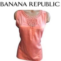 Banana Republic Coral Top M - $19.95