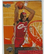 2009-10 Upper Deck LeBron James Base Card #28 Cavs, Lakers, Heat  - $11.76