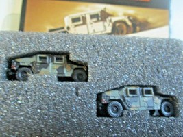 Micro-Trains # 49945954 Desert Camo Humvee Vehicle 2 Pack N-Scale image 2